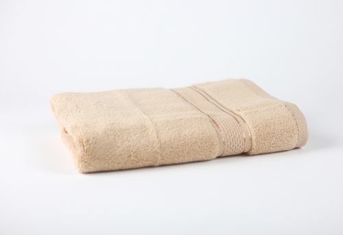 Towel To Gau, Zwirnfrottier Handtuch 50x80 / beige(Frosted Almond) / 1
